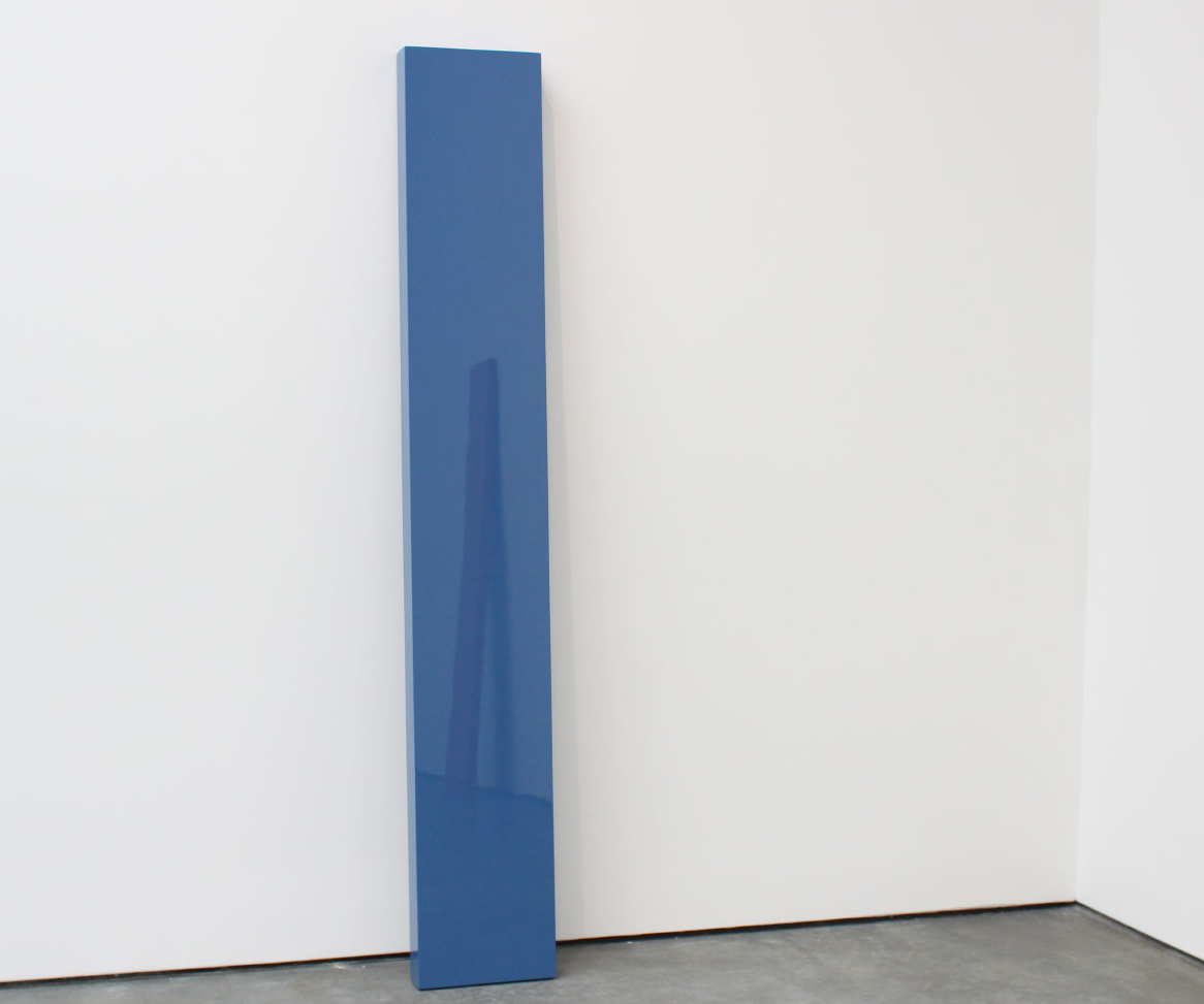 "John McCracken, ""Strato"", 2005 (reflecting ""Untitled"", 1982)"