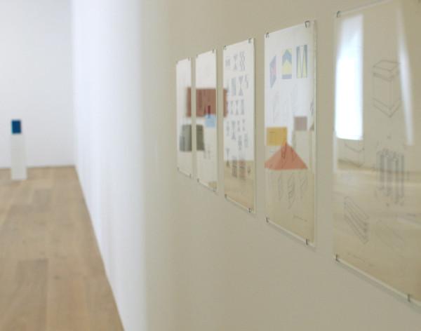 John McCracken, Installation at David Zwirner Gallery