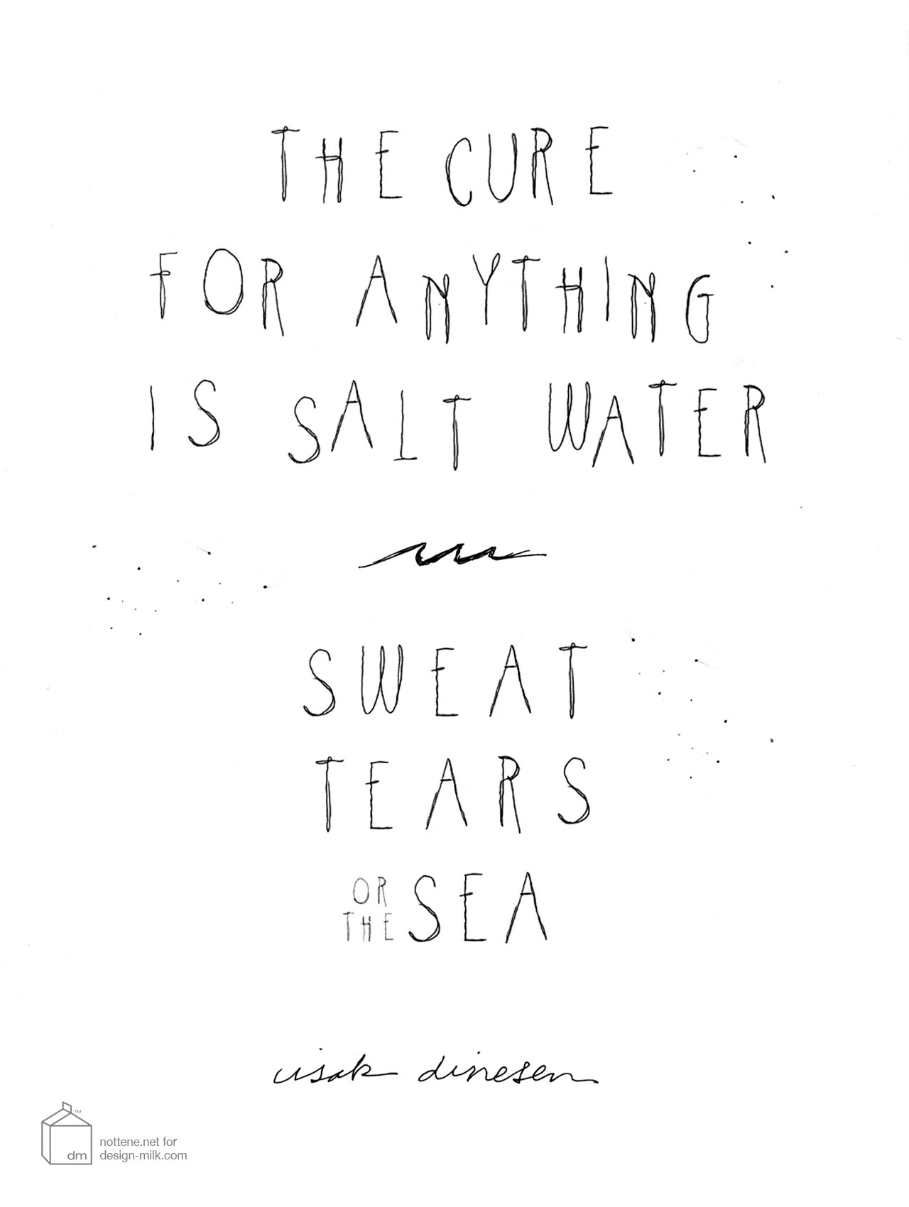 Vitamin D: Salt Water Solution