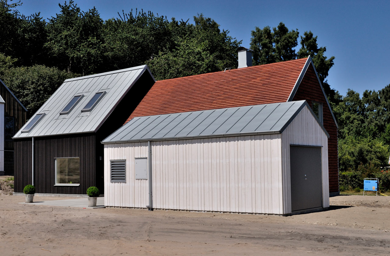 Old Meets New in a Coastal Village in Sweden