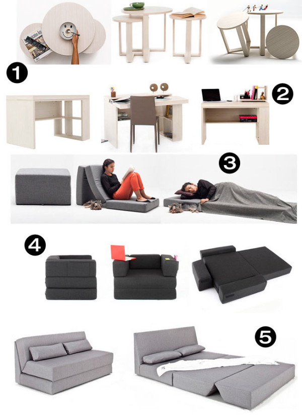 Nyfu Transformable Furniture Small Spaces