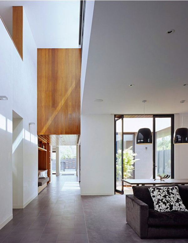 Contemporary Wood Paneling For Walls : Modern wood wall paneling home design