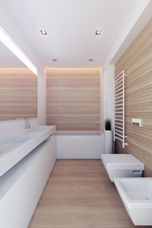 Wood Wall Line Architects 100 M
