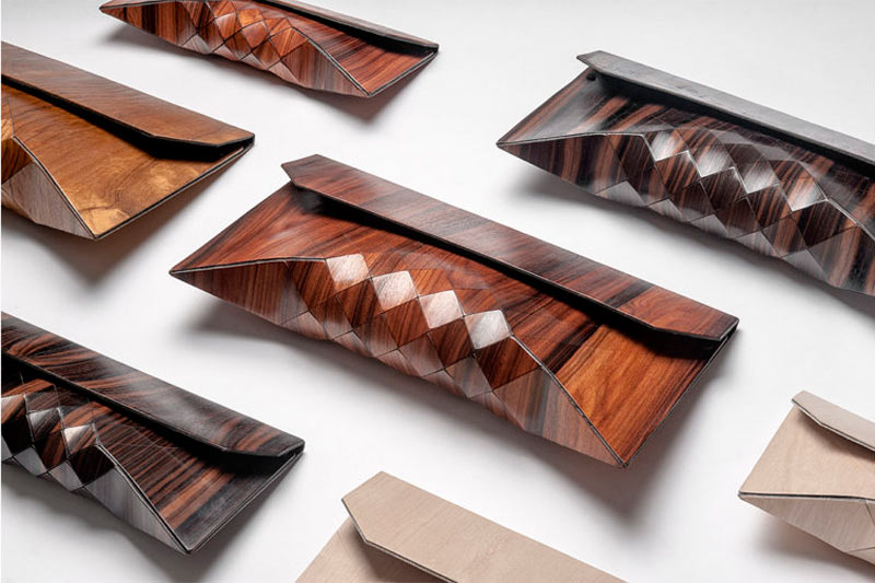 Wooden Bags by Tesler + Mendelovitch