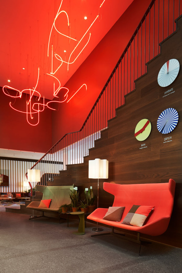 25hours Hotel Zurich West in interior design architecture Category