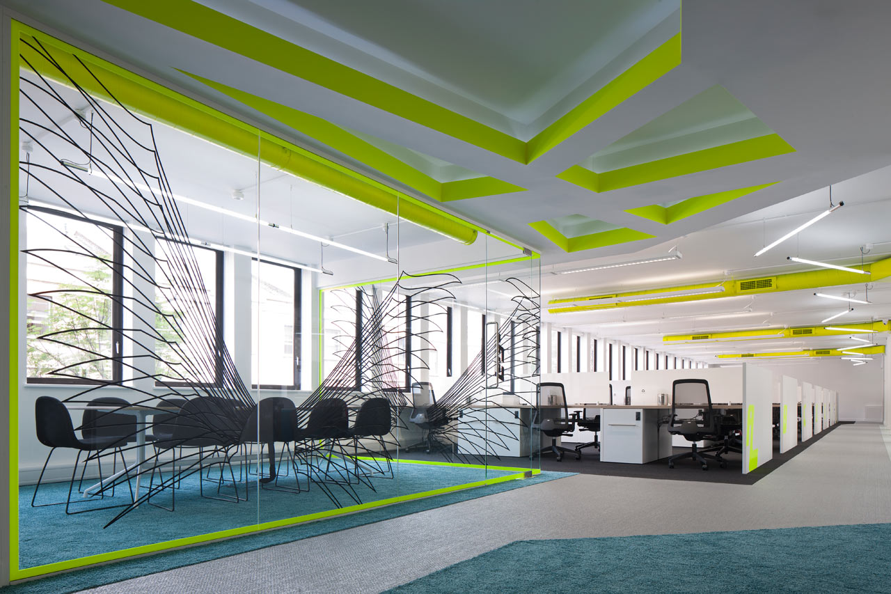 Co-Work Angel Workspace by PENSON