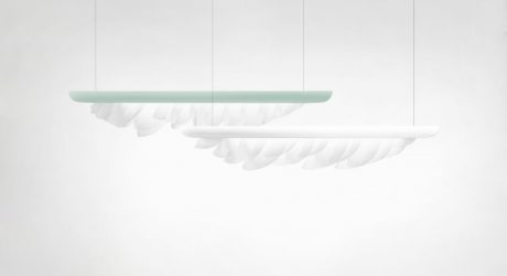 Plume Lamp by Constance Guisset