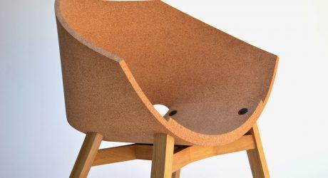 Corkigami Chair by Carlos Ortega Design