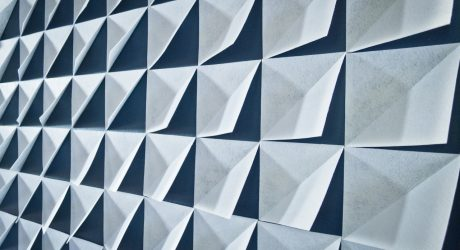 Make it Modern: DIY 3D Felt Wall Panels