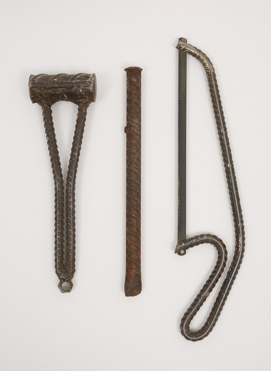 """Damián Ortega, """"Three Letters"""", 2013"""