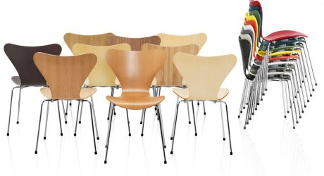Series 7 Chairs by Arne Jacobsen