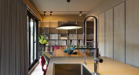 Taipei Apartment Becomes a Design Studio & Residence