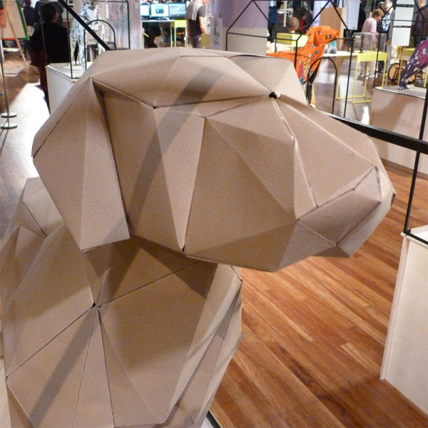 LDF13: Gerald the Lazerian Dog in news events art  Category