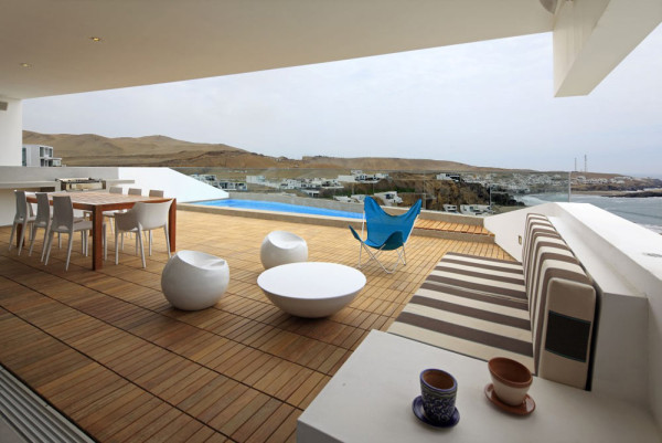 A Mineral Shaped Beach House by Vértice Arquitectos in main architecture  Category