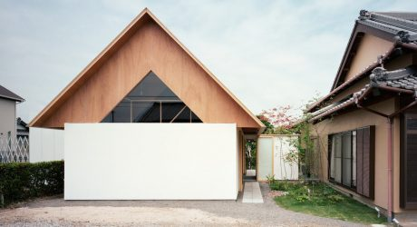 Two-Story Triangular Addition Built for Quiet and Relaxation