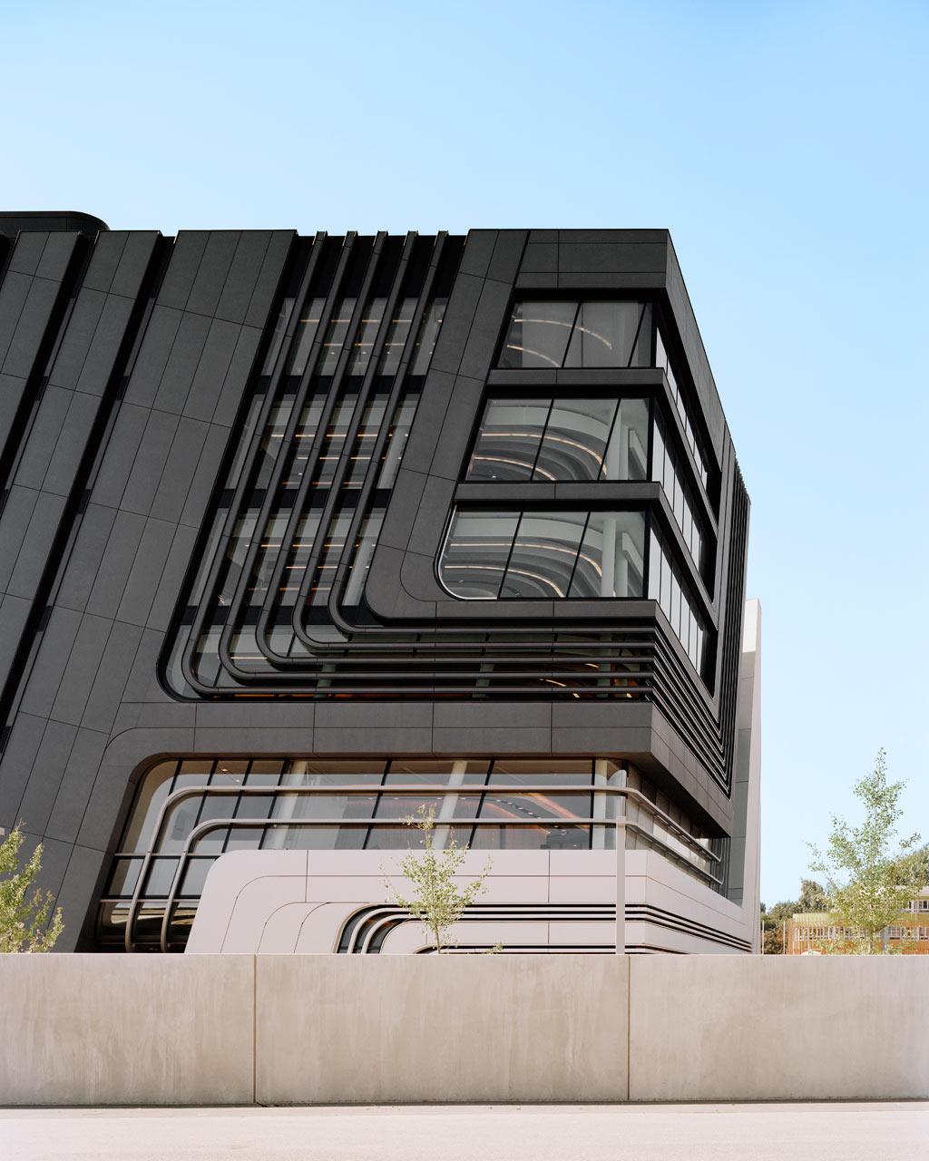 Futuristic Architecture: Learning Center by Zaha Hadid