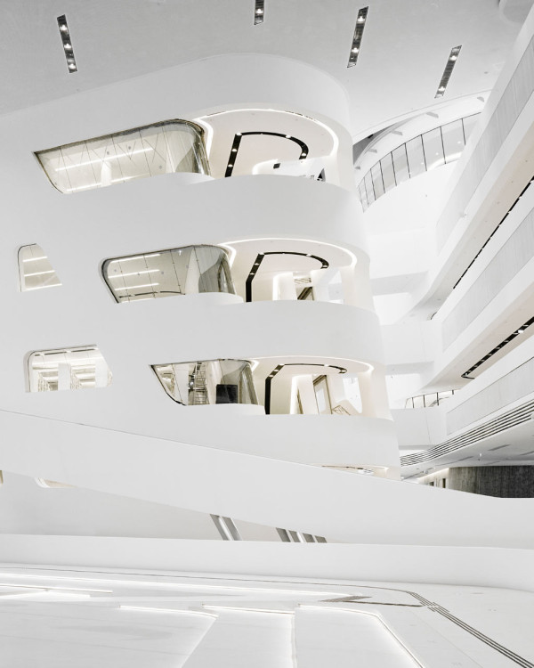 Library and Learning Center by Zaha Hadid