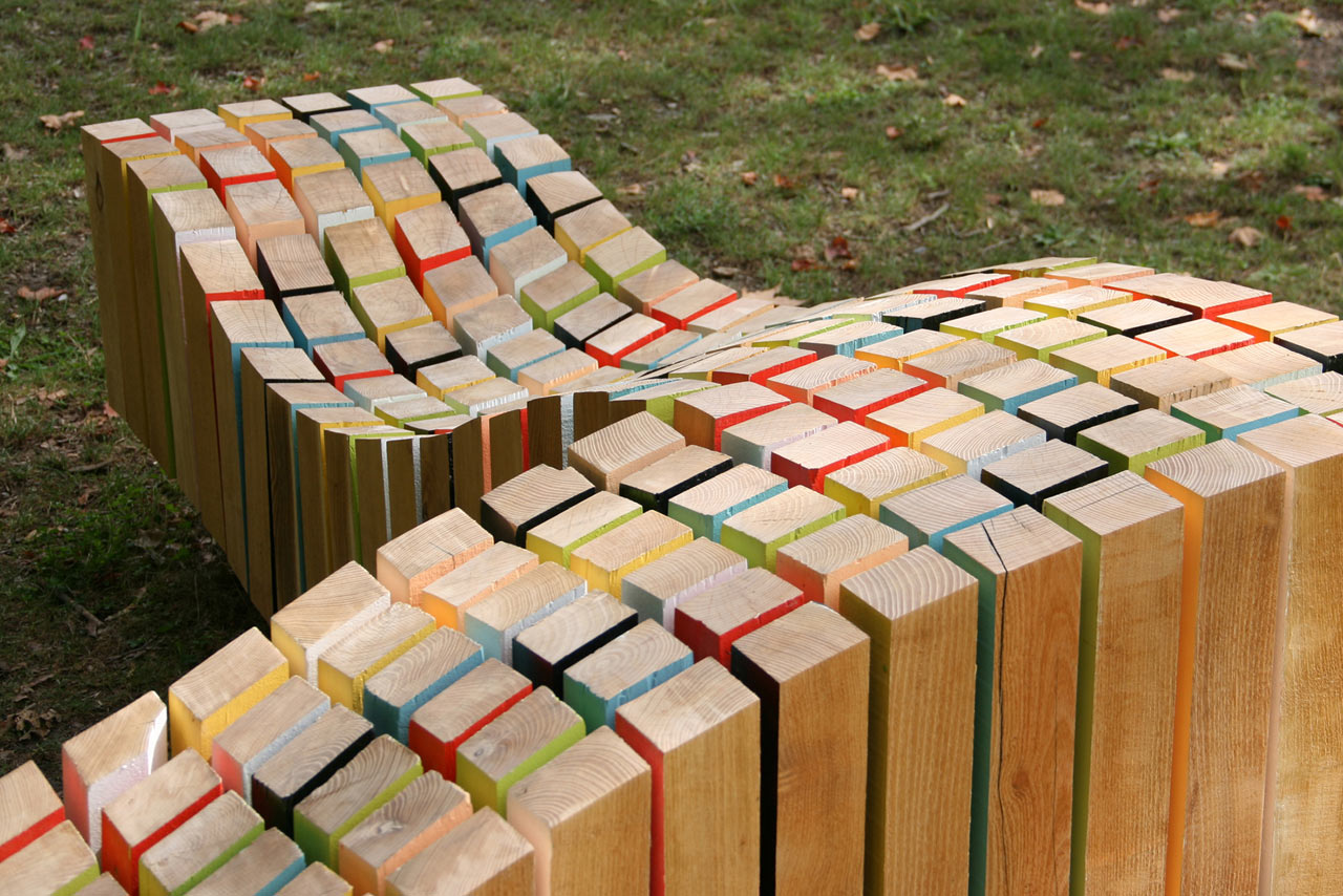 Lightwave: A Sculptural Bench by After Architecture