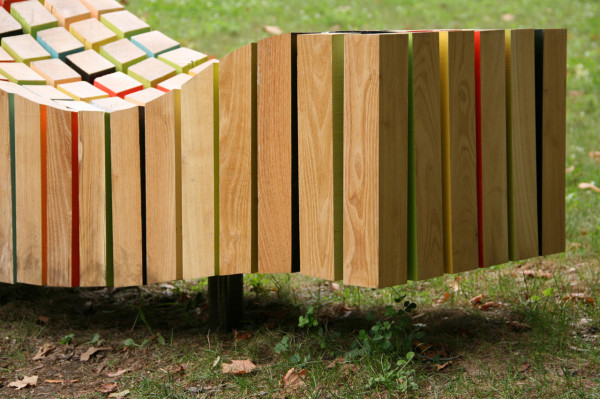Lightwave: A Sculptural Bench by After Architecture in main home furnishings art  Category