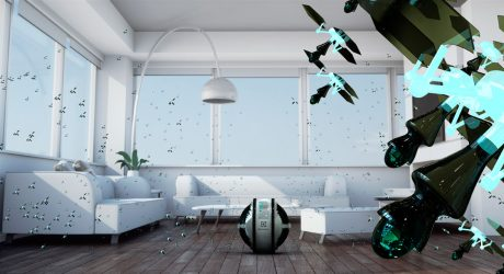 Flying Robot Cleaning System Wins Electrolux Design Lab