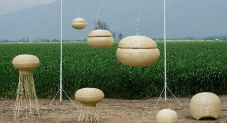 Wicker Lamps by Claesson Koivisto Rune for Made in Mimbre