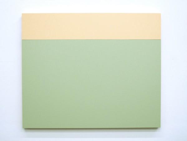 B3 (Cream, Aspen), 2013, Acrylic house paint on panels