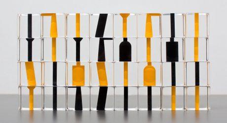 Negative Space Chess Set by Stefan Gougherty