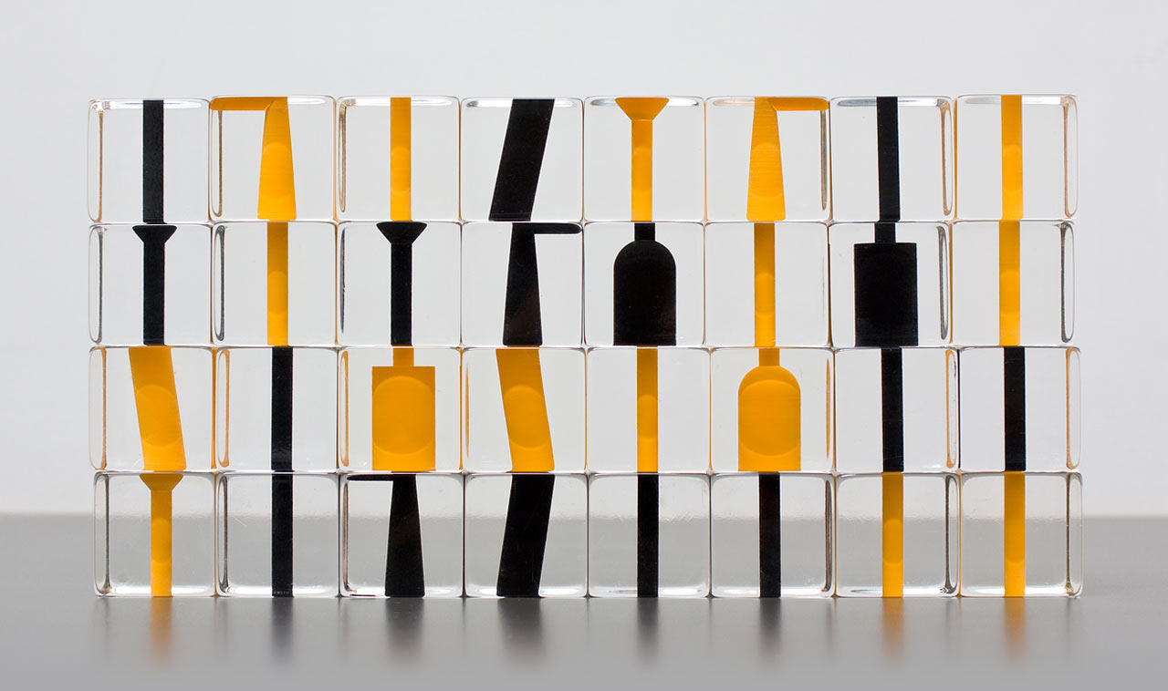 negative space chess set by stefan gougherty design milk
