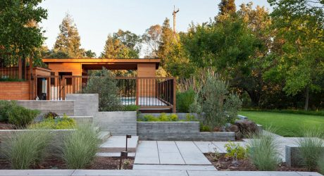 The Pool House by Klopf Architecture