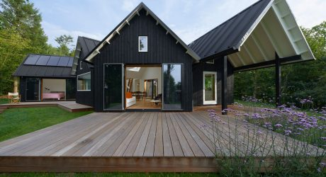 Danish Pitched Roof Summer House by Powerhouse Company
