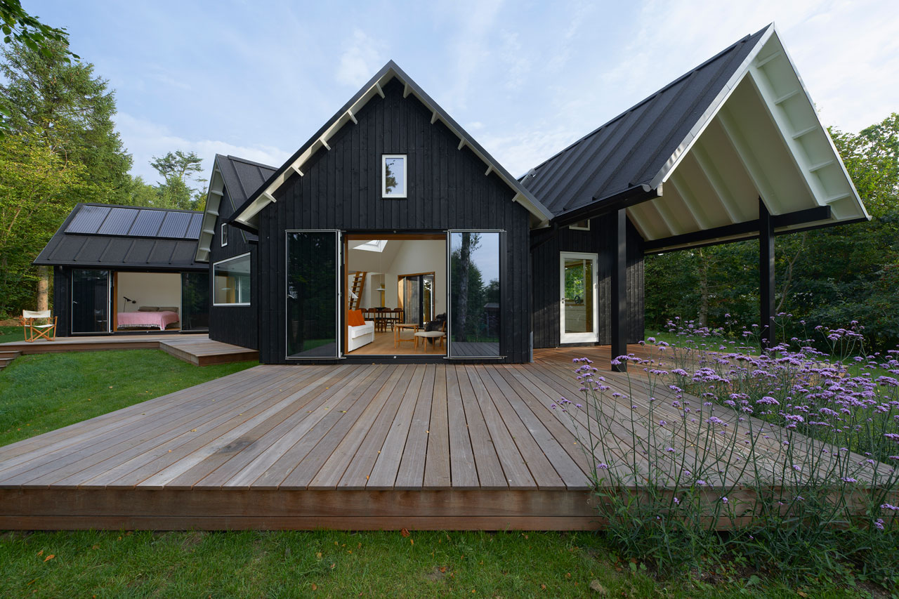 Danish Pitched Roof Summer House By Powerhouse Company ...