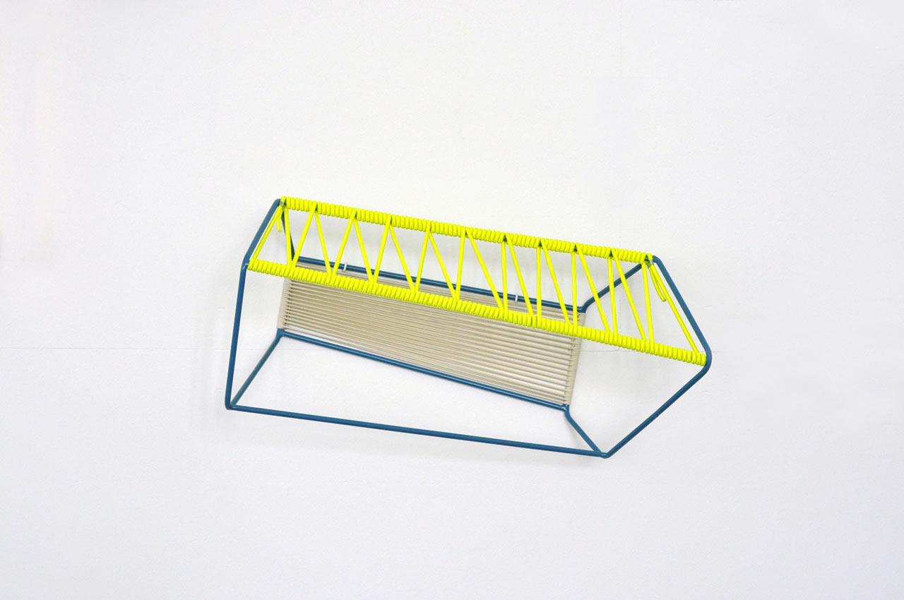 Quadrat: A Sculptural & Usable Wall Object