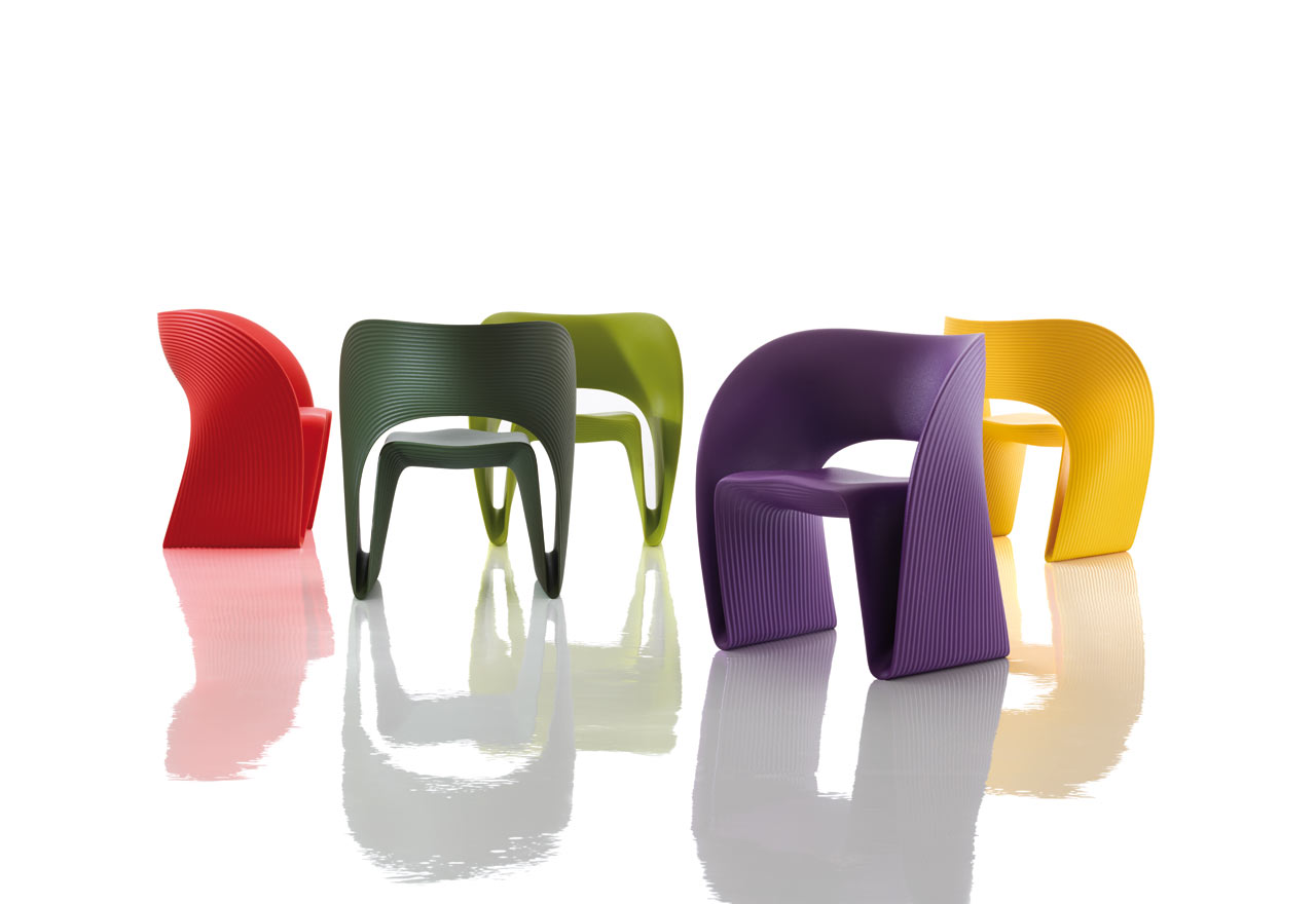Raviolo Chair by Ron Arad for Magis