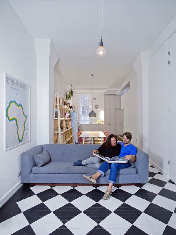 Apartment Design Guide london studio becomes a one bedroom apartment - design milk