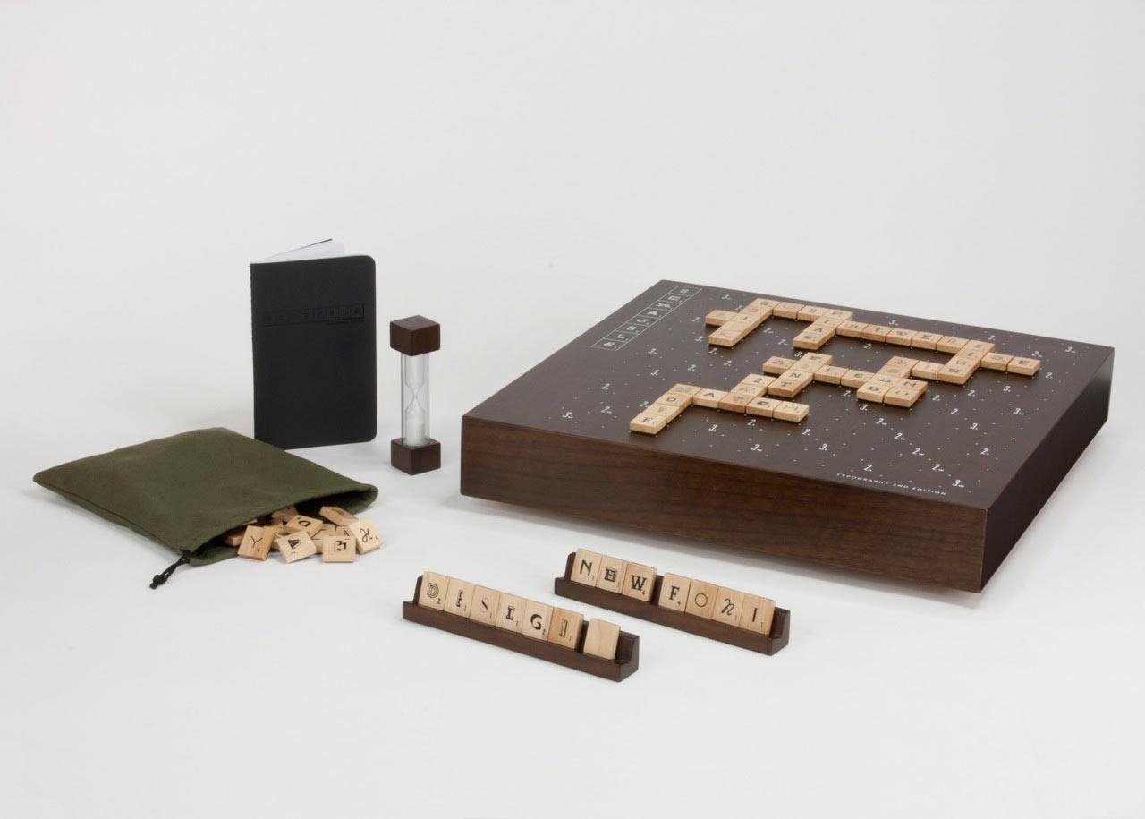 Scrabble Typography Edition 2