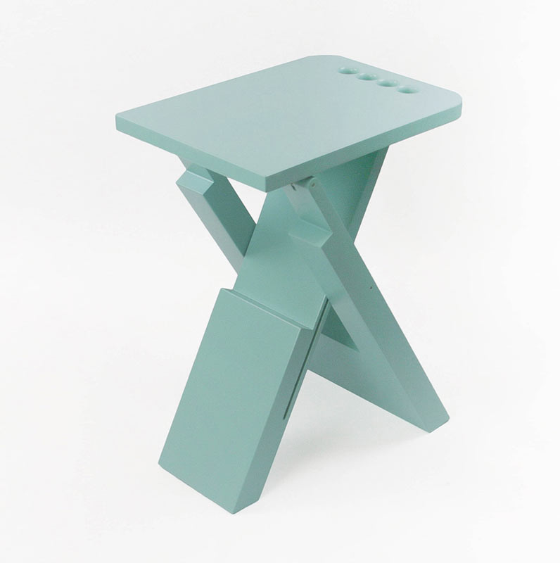 Sgabo Folding Stool by Alessandro Di Prisco