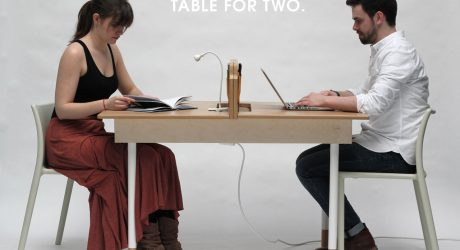 A Working Desk For Two & A Dining Table For Six