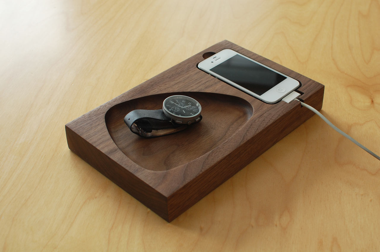 Timber Tray Docking Station