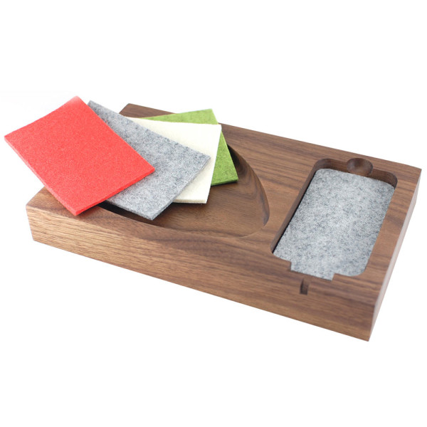 Timber Tray Docking Station in technology main home furnishings  Category