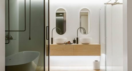 A Fresh & Modern Bathroom You'll Never Want To Leave