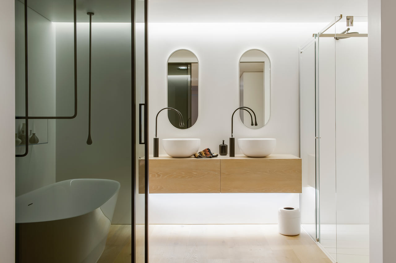 a fresh modern bathroom you ll never want to leave design milk a fresh modern bathroom you ll never want