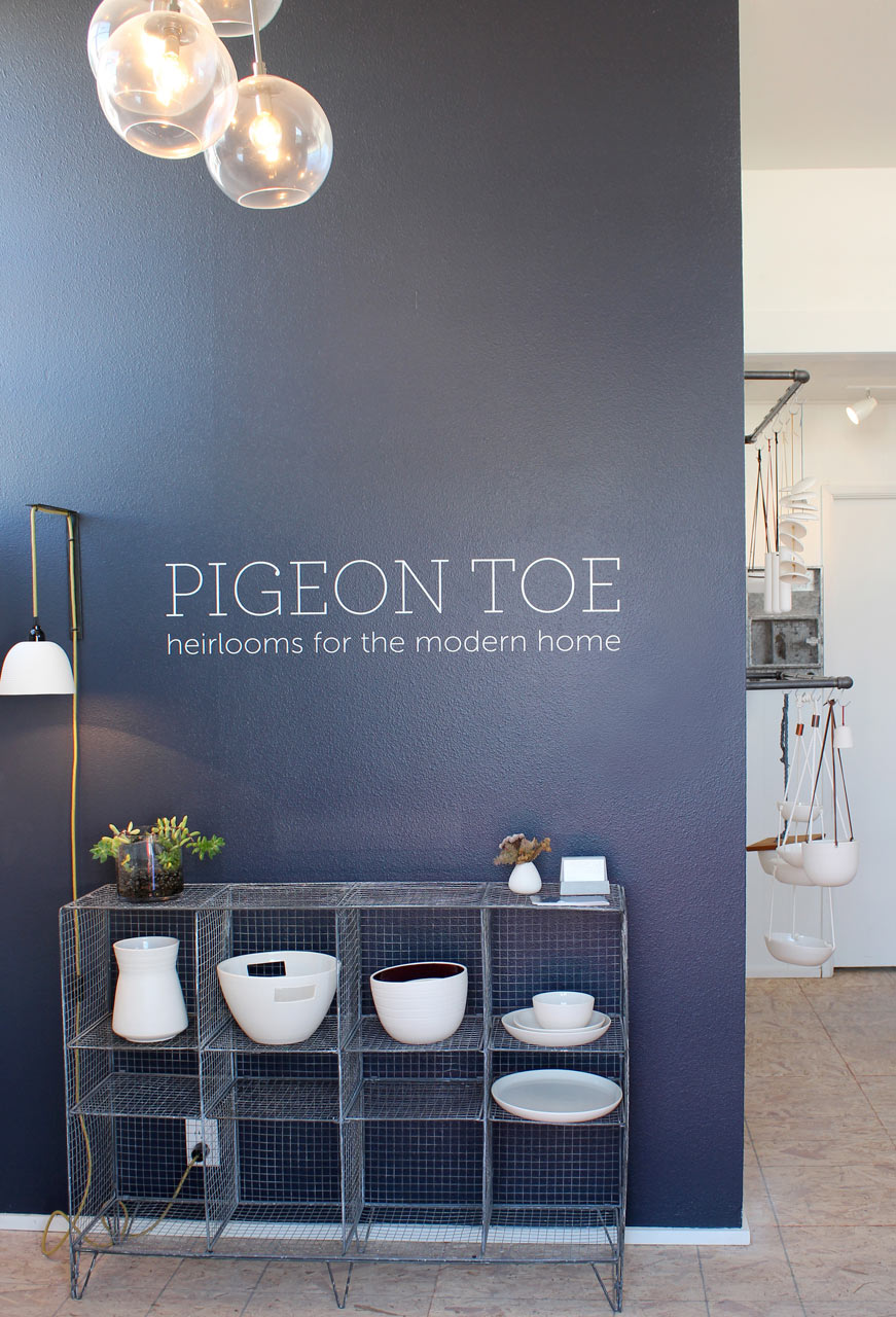Where I Work: Pigeon Toe Ceramics