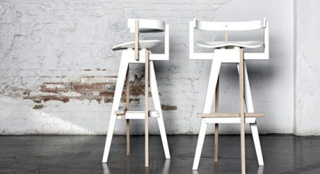 Xemei Stool by Mediodesign