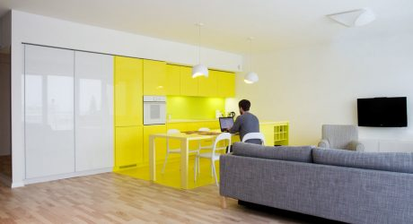 Cheerful Apartment in Krakow by PERA studio