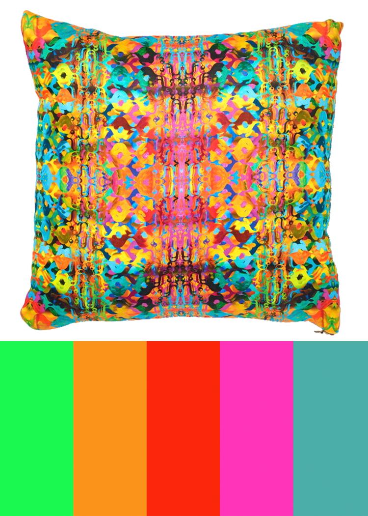 CMYLK: Ceil Diskin's Abstract Pillows