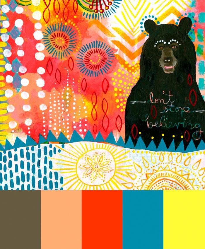 CMYLK: Jessica Swift's Animal Artwork