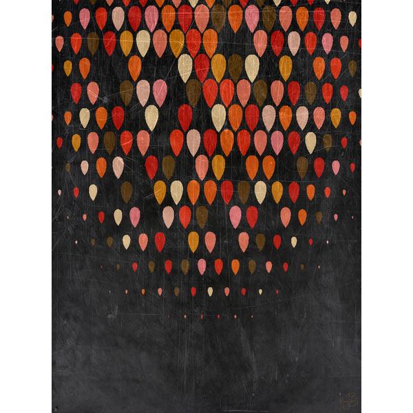 colorful-raindrops-fall-art