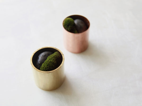 Copper and Brass Vases from The Workshop Gallery in main home furnishings  Category