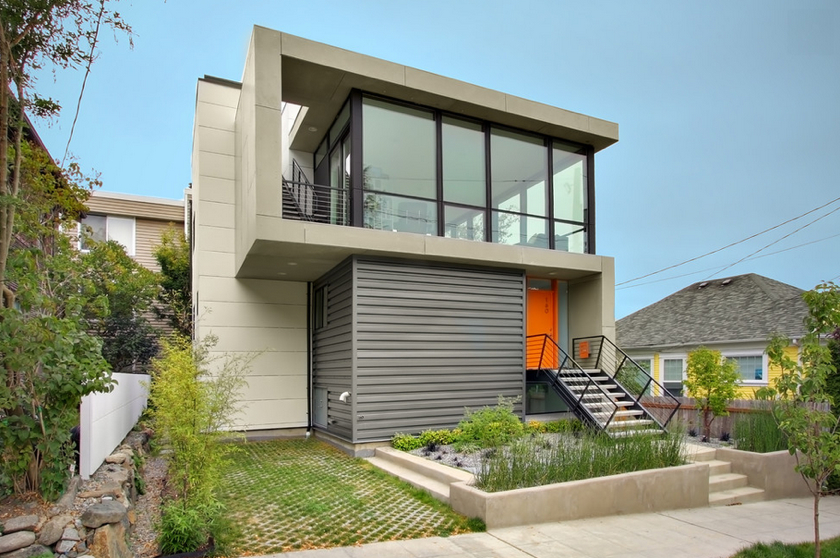 12 metal clad contemporary homes - Small Home Designs Ideas
