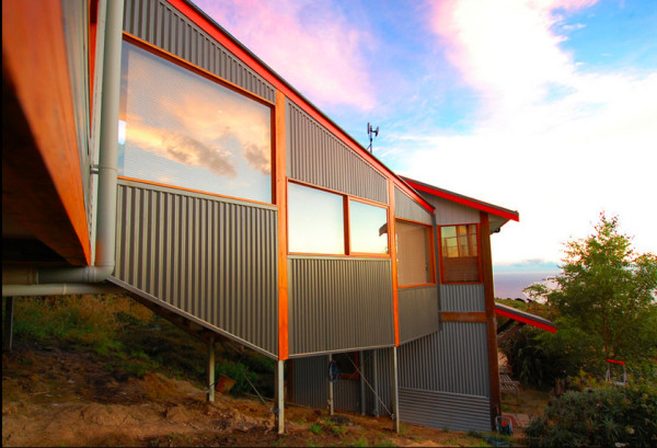 12 Metal Clad Contemporary Homes in main architecture  Category